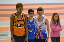 Romain 2ème du 1500m cadet