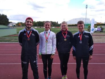 Les 4 médaillés bretons